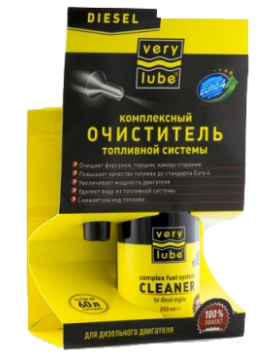 VERY LUBE COMPLEX FUEL SYSTEM CLEANER FOR DIESEL ENGINE
