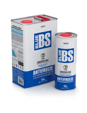 Coolant Concentrate Cooling System  Antifreeze Blue BS