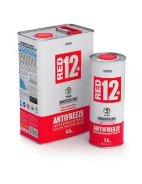antifreeze concentrate for engine Antifreeze Red 12+
