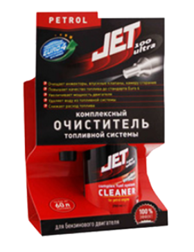 JET 100 ULTRA FUEL SYSTEM CLEANER - PETROL ENGINES